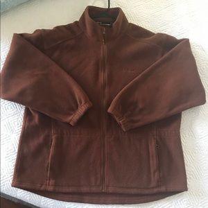 LLBean zipper fleece jacket (Unisex)